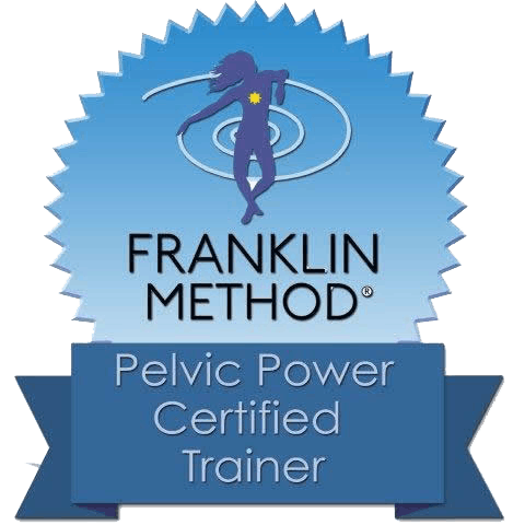 Pelvic Power certified trainer Image logo for Pilates by Val